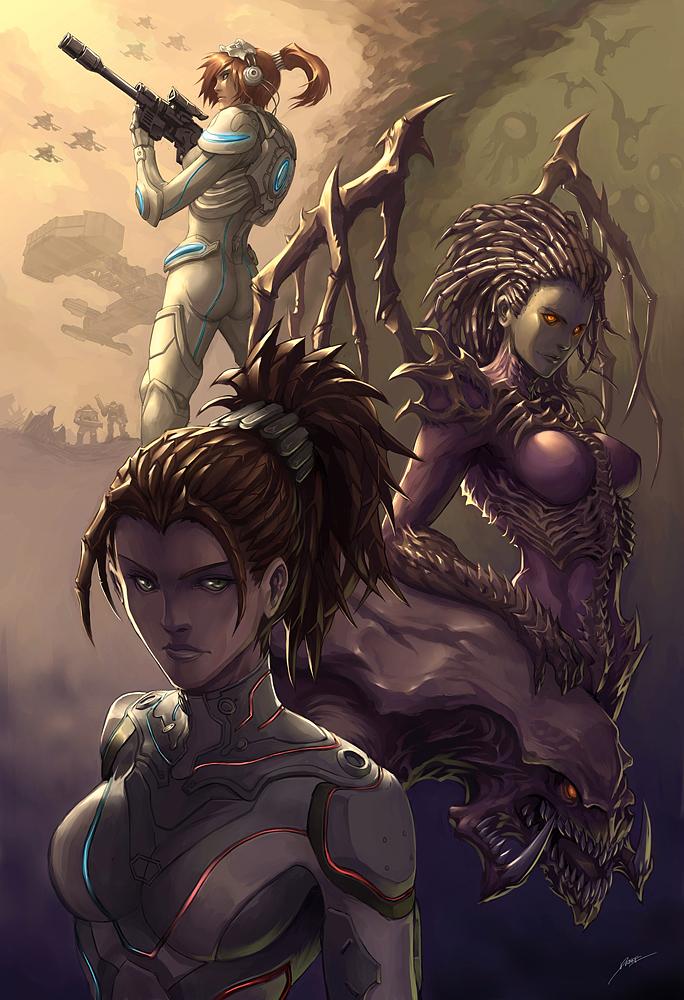kerrigan The queen of blades 2 starcraft Gaming cosplay