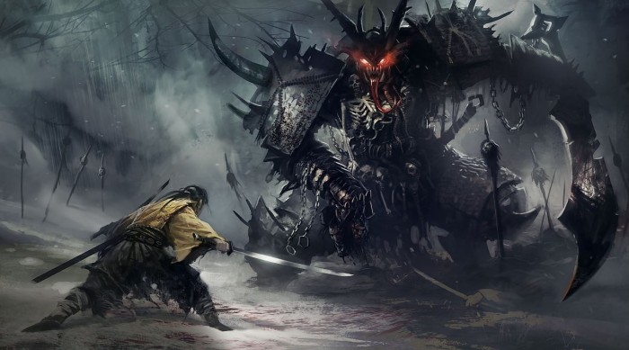 Shadow Demons wtf Wallpaper Fantasy   Science Fiction