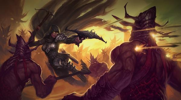 diablo 3 details demon hunter intro new traits and skills talisman Demon hunter Demon hunter hunter Diablo videogames