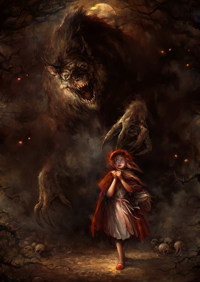 Little Red Riding hood Fairy Tale little red riding hood wolf