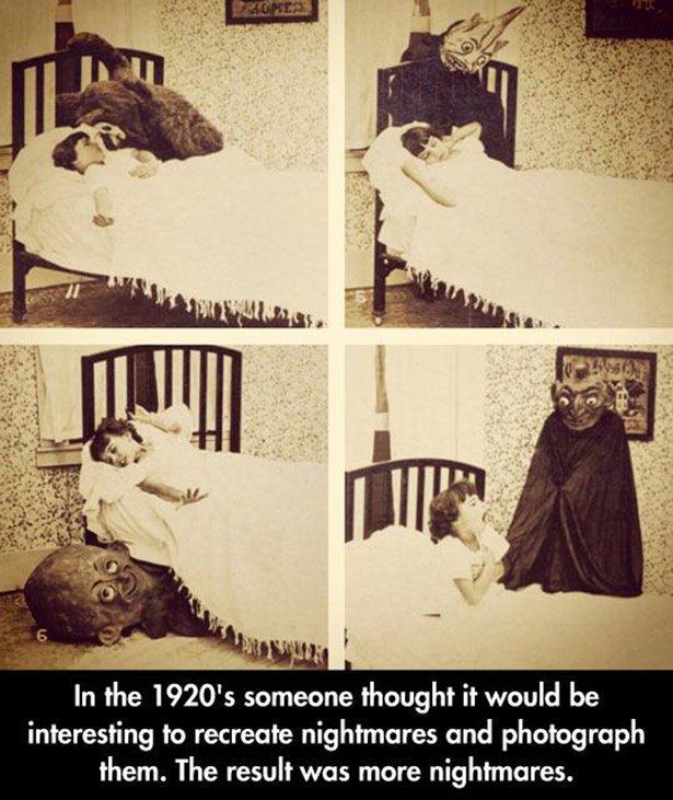 nope 007 07142014 Nightmares wtf Weird vintage Nightmares interesting awesome