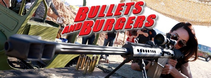 burgerbullets 700x259 Burgers and Bullets wtf Weapons Food