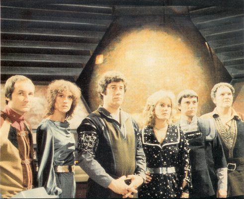 B7 Cast A Blakes 7  i dont know if there should be an apostrophe Blakes 7 Avon was clearly gay for Blake anti Star Trek