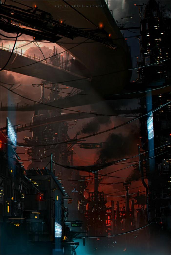 tumblr n9282vFrfY1rsagu3o1 1280 700x1047 Science Fiction Illustrations science fiction illustration Art