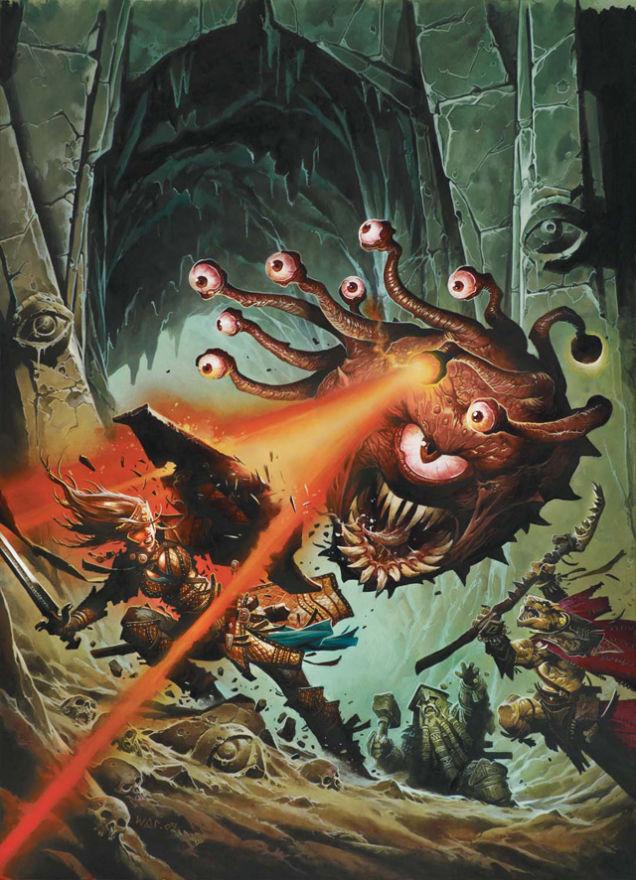 beholder beholder Monsters fantasy D&D Art