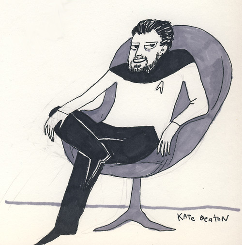 KBst2 Kate Beaton Star Trek star trek Kate Beaton