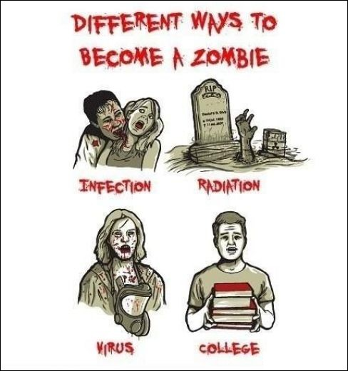 ToBecomeZombie How To Become a Zombie zombie image fun cartoon