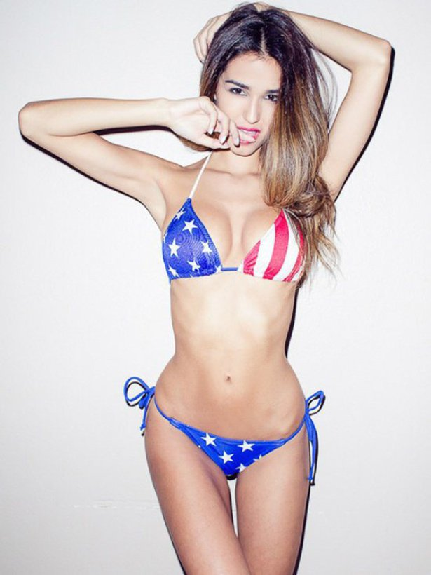 american girls 101 08292014 USA wtf women USA stars and stripes Sexy not exactly safe for work NeSFW interesting girls Fourth Of July flag bikini awesome