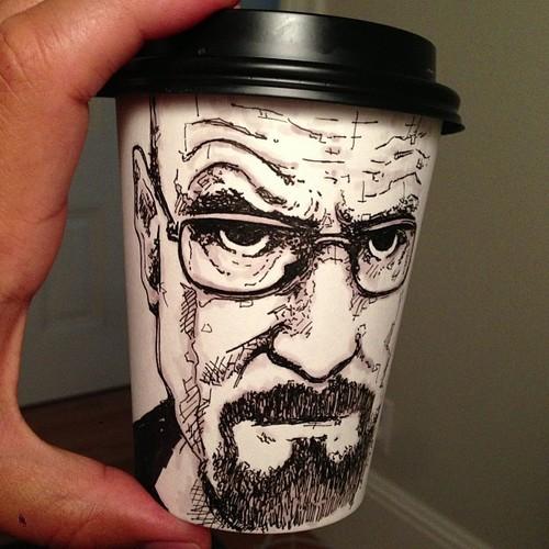 heisenberg 1 Heisenberg Coffee Art