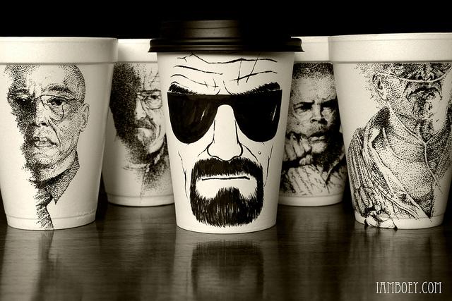 heisenburg 3 Heisenberg Coffee Art