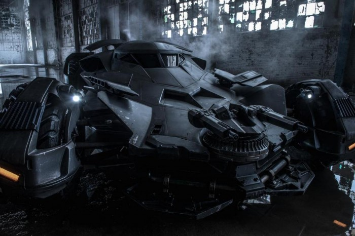 BVS batmobile new3 large 700x466 Batmobile Movies design Batmobile Batman Vs Superman