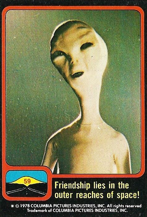 tumblr nbick5BZ6S1sqf5tdo1 500 Vintage Close Encounters Bubble Gum Card  Steven Spielberg Close Encounters of the Third Kind Bubble Gum Card 1977