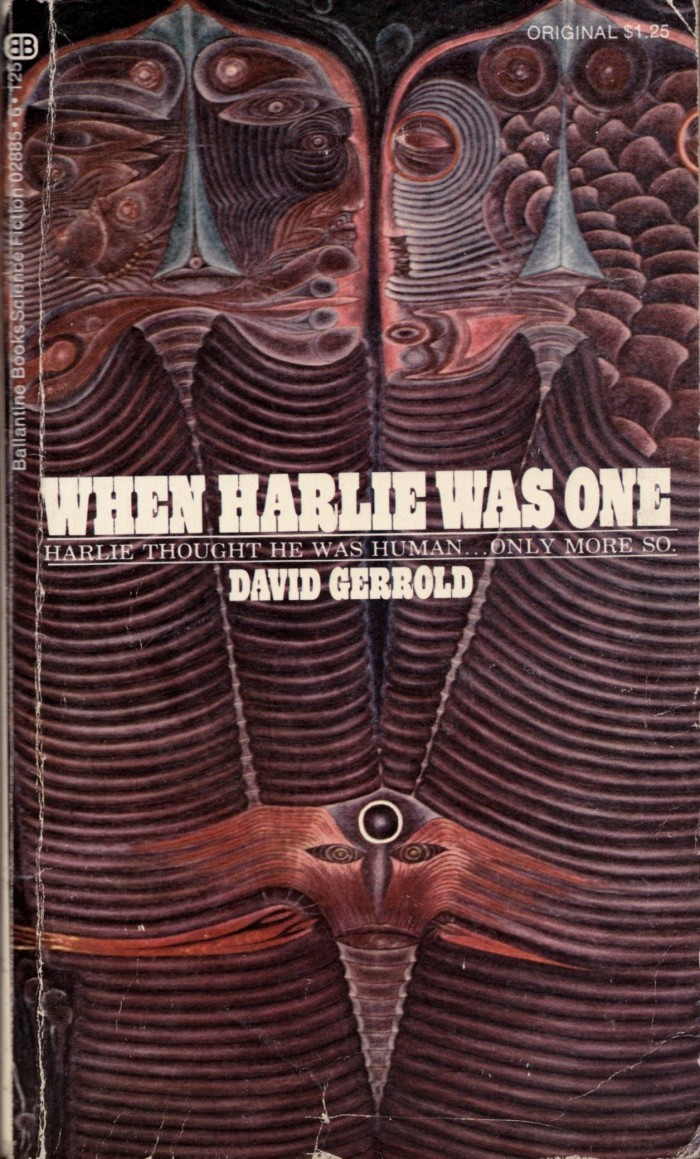 whenharlie 700x1159 When Harlie Was One When Harlie Was One science fiction David Gerrold Book cover AI