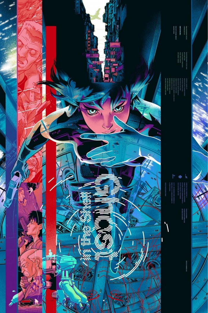 tumblr nc8u9n5Jlu1qg8i80o1 1280 700x1050 Ghost in the Shell  poster movie illustration Ghost in the Shell Art