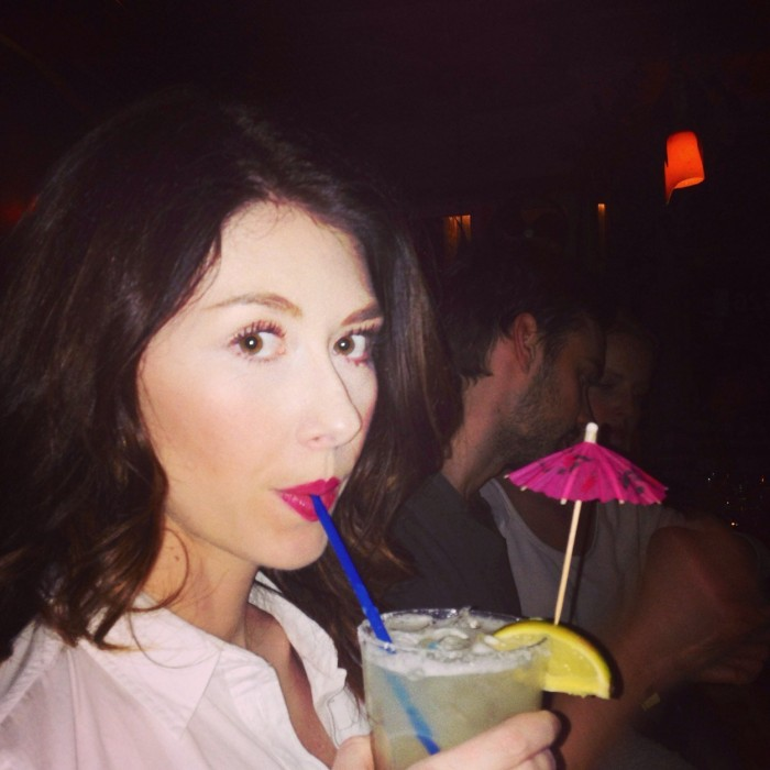 Jewel Staite jewel staite firefly cocktail umbrella