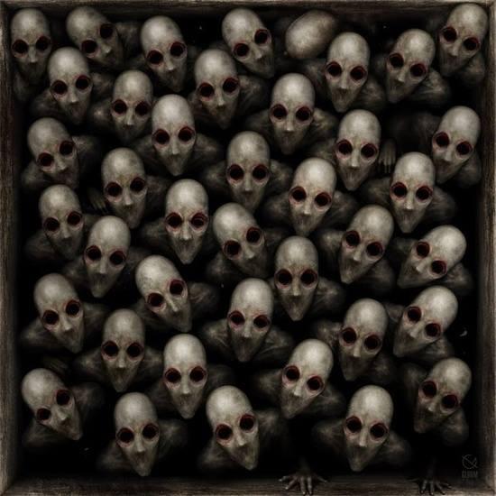 horde We are legion facebook profile pic creepy