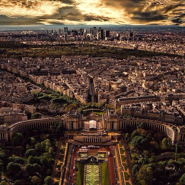 image Paris overview Landscape