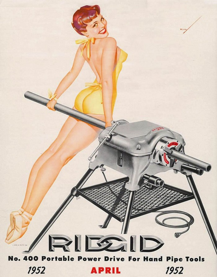 rigid 700x891 Wumin n tools tools NeSFW machinery Calendar girls
