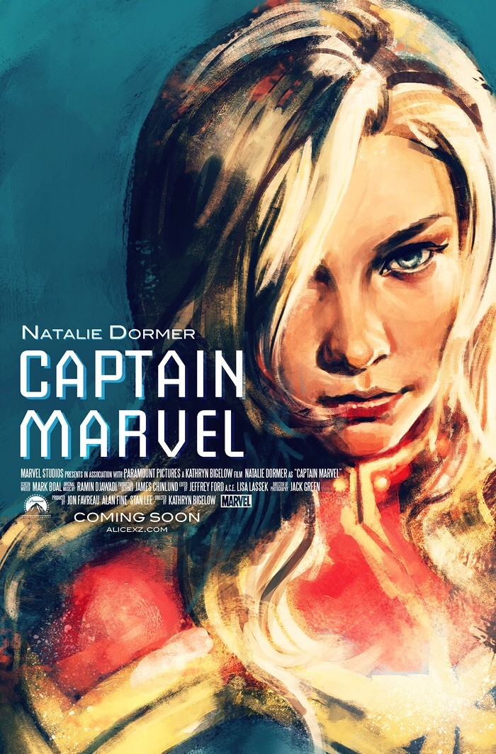 iFXJx2C.1 700x1063 Natalie Dormer as Captain Marvel marvel Comic Book