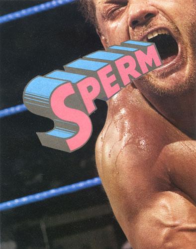 tumblr ngfg0pSWGk1tfb0zxo1 400 Manliness WWF wrestling sperm Humor collage Art
