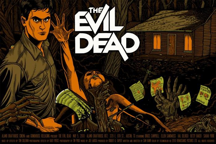 big 4e64ad554e6a29f878a2b52ea7e419c7b3938f01 700x467 Evil Dead posters Movies illustration Evil Dead Art