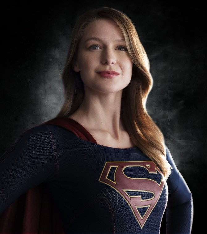 supergirlheadshot First pics of Melissa Benoist as Supergirl