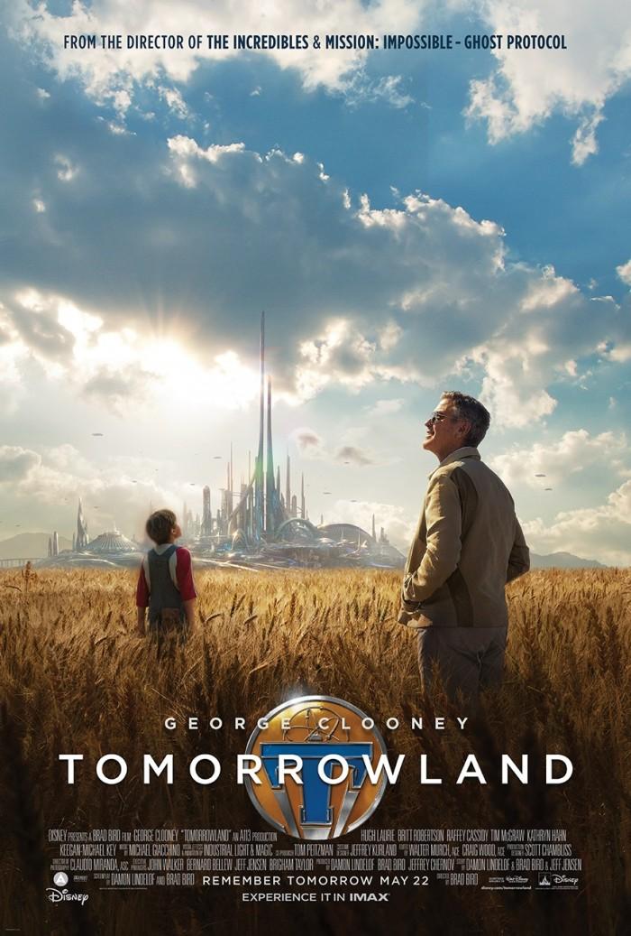 tomorrowland nposter gallery 700x1037 Tomorrowland tomorrowland posters Movies george clooney Brad Bird