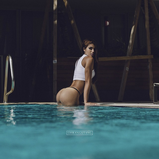 tumblr narmrvnmJn1slr9bso1 1280 out of the pool women Sexy not exactly safe for work