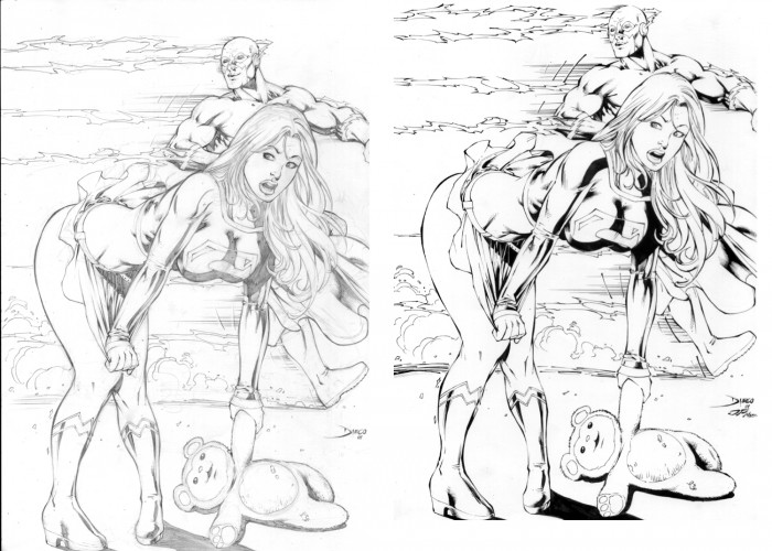 Supergirl_and_Flash_by_JPMayer.jpg (699 KB)