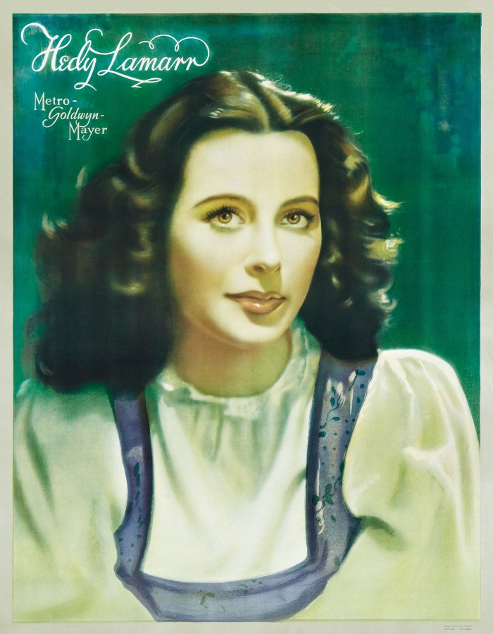 Hedy Lamarr Personality Poster 01 700x899 Hedy Lamarr Movies