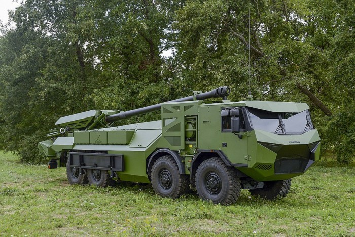 Nexter Systems CAESAR Military artillery
