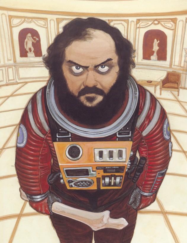 tumblr m325009baM1rsb60po1 1280 Stanley Kubrick by Katsuhiro Otomo Stanley Kubrick Katsuhiro Otomo illustration Art
