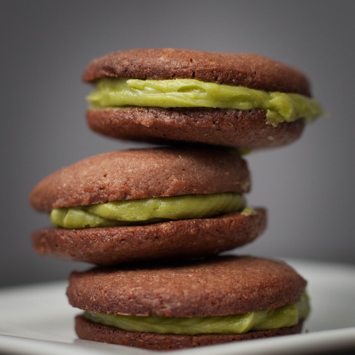 ALL 0021 700x700 Chocolate Matcha Wafer Cookie Yum WANT Love eat dessert cookie