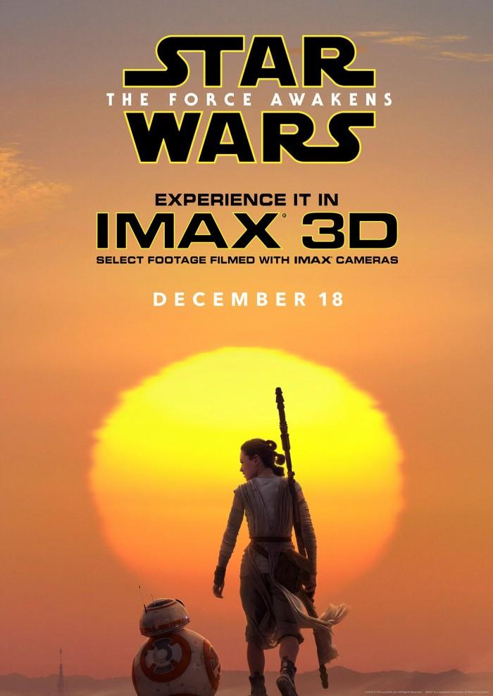 star wars tfa imax poster 700x989 Star Wars: The Force Awakens star wars poster IMAX design Art