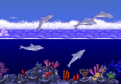 ecco the dolphin002 500x350 Ecco the Dolphin