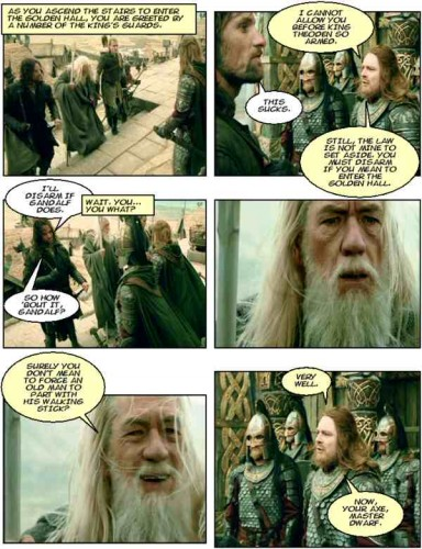 comic lotr59a 384x500 Walking Sticks Humor Gaming