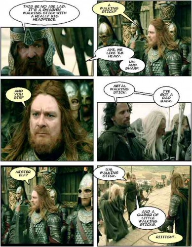 comic lotr59b 389x500 Walking Sticks Humor Gaming