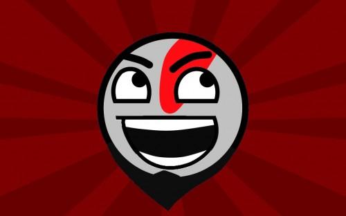 Kratos 500x312 God of War Wallpaper Humor God Of War Gaming