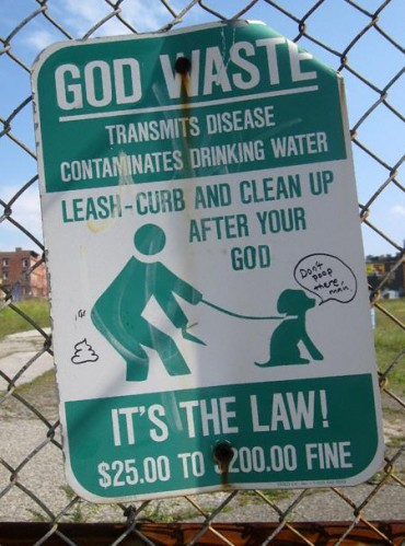 god clean jpg 370x499 God Waste Religion Humor