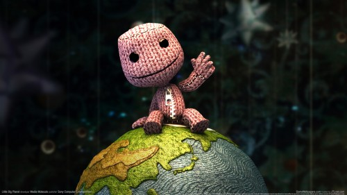 Sackboy 500x281 Little Big Planet Wallpaper Little Big Planet Gaming
