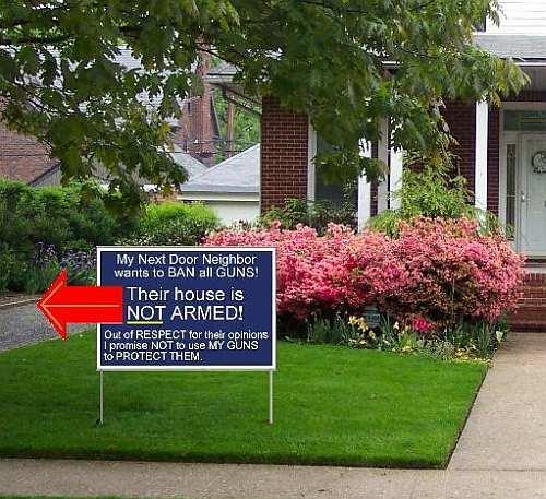 armed house Armed House Politics Humor