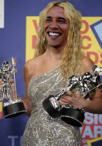 Obama Wins MTV Music Video Awards