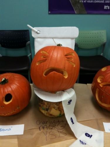 photo 375x500 Pumpkin crap Humor Halloween