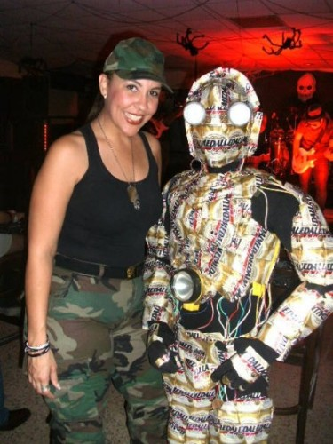 14463 165980187733 623127733 2939768 4707048 n 375x500 C3P O Costume made out of Medalla Light cans MCS Halloween Halloween