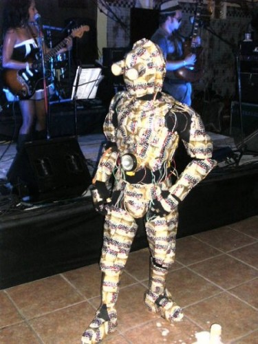 14463 165980627733 623127733 2939836 4760688 n 375x500 C3P O Costume made out of Medalla Light cans MCS Halloween Halloween
