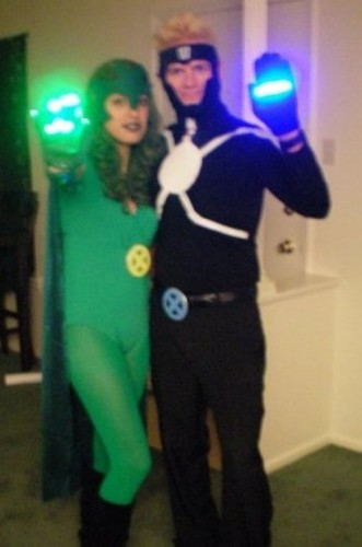 havpol 331x500 Havok & Polaris Halloween costumes MC