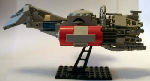 lego serenity side 500x272 Lego Serenity lego firefly Awesome Things