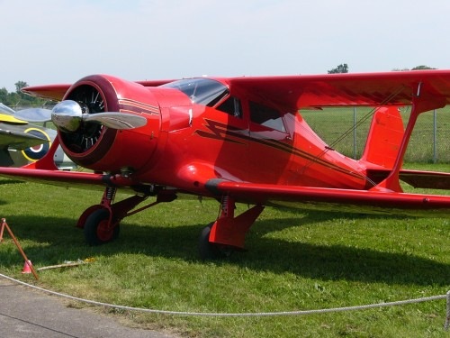 Beechcraft D17S Staggerwing CF GKY 01 500x375 Beautifull planes Wallpaper Awesome Things