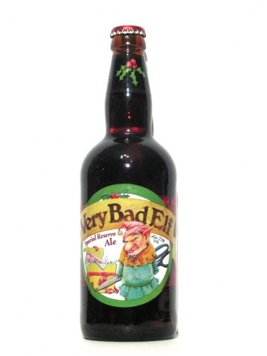 Very Bad Elf 375x500 Merry Christmas X Mas Alcohol