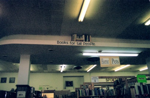 Curious Library 500x328 Curious Library Humor Books